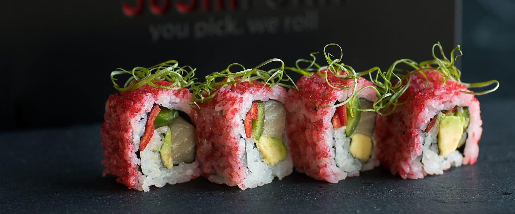 SushiFork of Tulsa Sushi Rolls